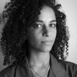 A portrait photo of writer Ashley Hefnawy